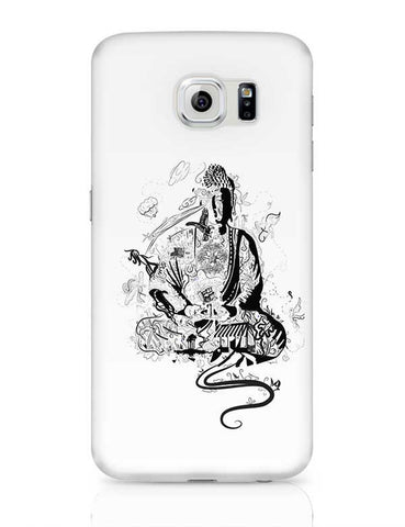 'Bee' Buddha Samsung Galaxy S6 Covers Cases Online India
