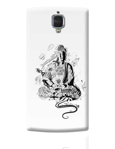 'Bee' Buddha OnePlus 3 Covers Cases Online India