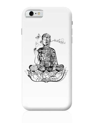 Calm in bloom - Buddha remixed iPhone 6 / 6S Covers Cases