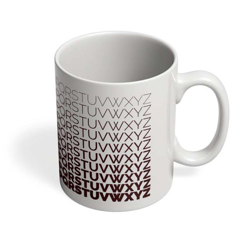 Coffee Mugs Online | Alphabets Mug Online India