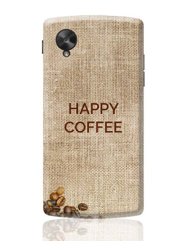 Google Nexus 5 Covers | Coffee Google Nexus 5 Case Cover Online India