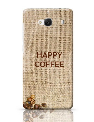 Xiaomi Redmi 2 / Redmi 2 Prime Cover| Coffee Redmi 2 / Redmi 2 Prime Case Cover Online India