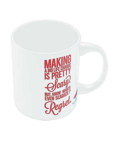 NASSCOM Making a Life Motivational Quote Mug