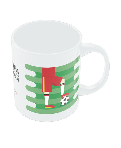 FIFA Worldcup 2014 Spain Field Football Mug
