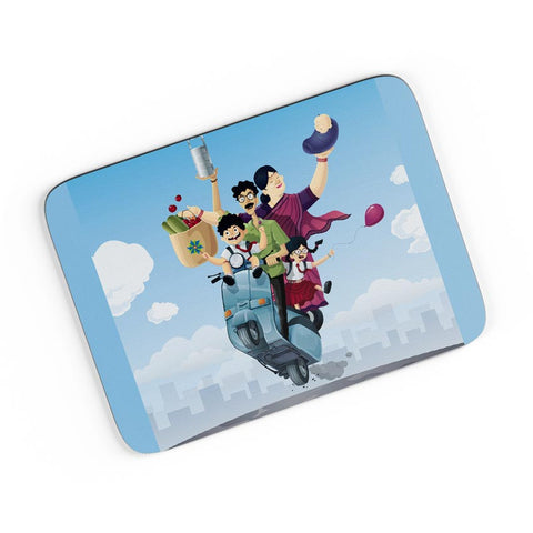 Indian Family A4 Mousepad Online India