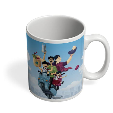 Coffee Mugs Online | Indian Family Coffee Mug Online India
