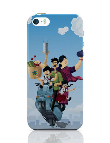 iPhone 5 / 5S Cases & Covers | Indian Family iPhone 5 / 5S Case Cover Online India
