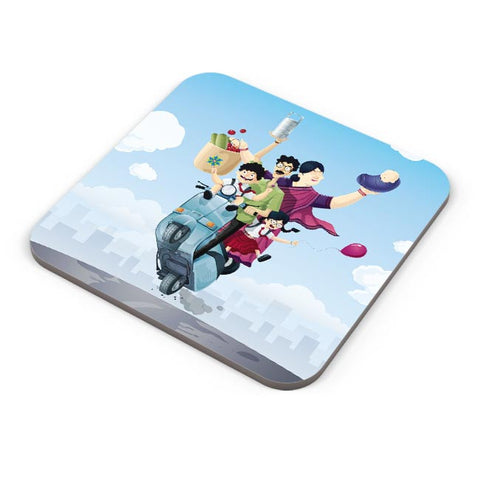 Buy Coasters Online | Indian Family Coasters Online India | PosterGuy.in