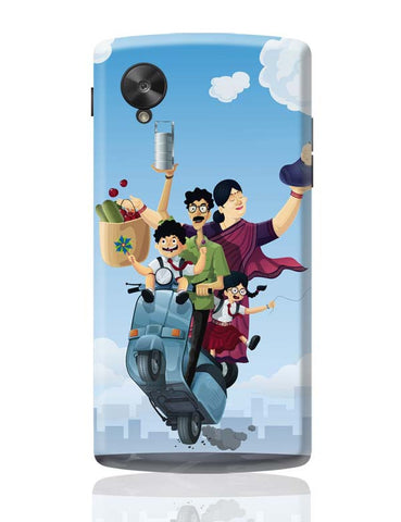 Google Nexus 5 Covers | Indian Family Google Nexus 5 Case Cover Online India