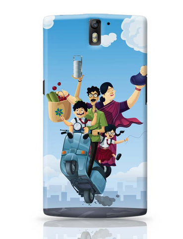 OnePlus One Covers | Indian Family OnePlus One Case Cover Online India