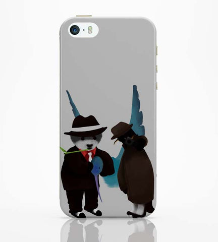 iPhone 5 / 5S Cases & Covers | The Panda, Penguin And The Hummingbird iPhone 5 / 5S Case Online India