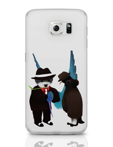 Samsung Galaxy S6 Covers | The Panda, Penguin And The Hummingbird Samsung Galaxy S6 Covers Online India