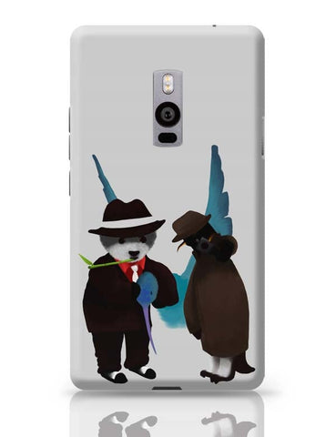 OnePlus Two Covers | The Panda, Penguin And The Hummingbird OnePlus Two Case Cover Online India