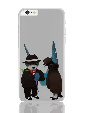 iPhone 6 Plus/iPhone 6S Plus Covers | The Panda, Penguin And The Hummingbird iPhone 6 Plus / 6S Plus Covers Online India