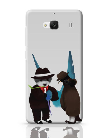 Xiaomi Redmi 2 / Redmi 2 Prime Cover| The Panda, Penguin And The Hummingbird Redmi 2 / Redmi 2 Prime Case Cover Online India