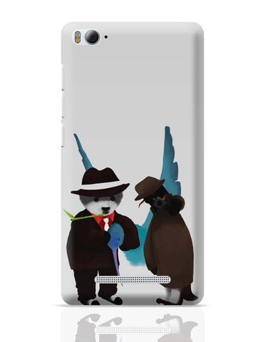 Xiaomi Mi 4i Covers | The Panda, Penguin And The Hummingbird Xiaomi Mi 4i Case Cover Online India