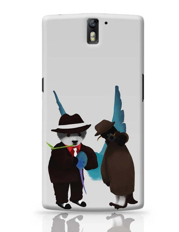 OnePlus One Covers | The Panda, Penguin And The Hummingbird OnePlus One Case Cover Online India