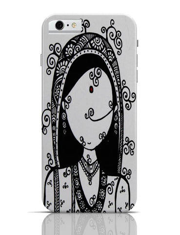 iPhone 6/6S Covers & Cases | Rajasthani Woman iPhone 6 / 6S Case Cover Online India