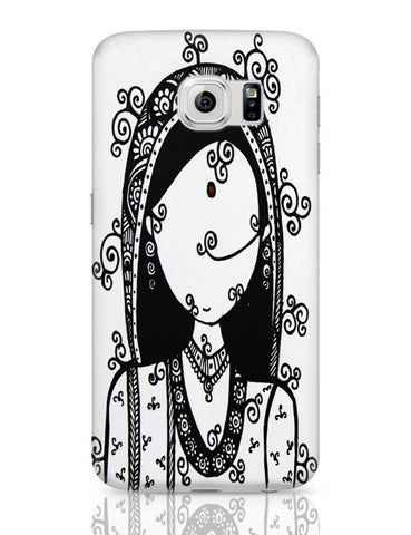 Samsung Galaxy S6 Covers | Rajasthani Woman Samsung Galaxy S6 Case Covers Online India
