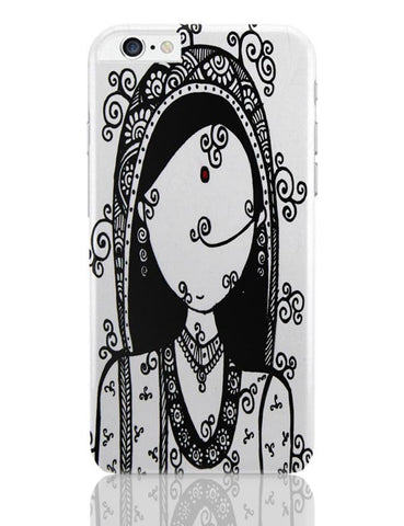 iPhone 6 Plus/iPhone 6S Plus Covers | Rajasthani Woman iPhone 6 Plus / 6S Plus Covers Online India