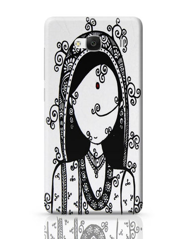 Rajasthani Woman Redmi 2 / Redmi 2 Prime Covers Cases Online India