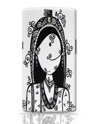 Rajasthani Woman OnePlus One Covers Cases Online India