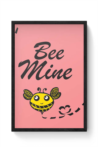 Framed Posters Online India | Bee Mine Laminated Framed Poster Online India