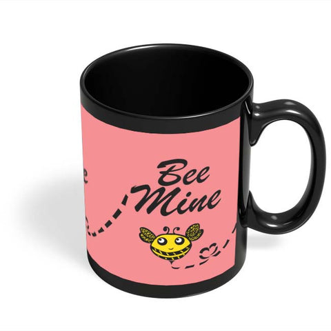 Coffee Mugs Online | Bee Mine Black Coffee Mug Online India