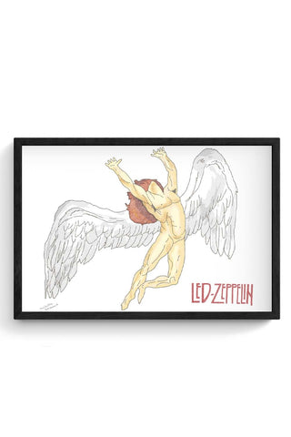 Framed Posters Online India | Led Zeppelin Framed Poster Online India
