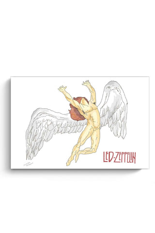 Posters Online | Led Zeppelin Poster Online India | Designed by: Mihika Shaunik