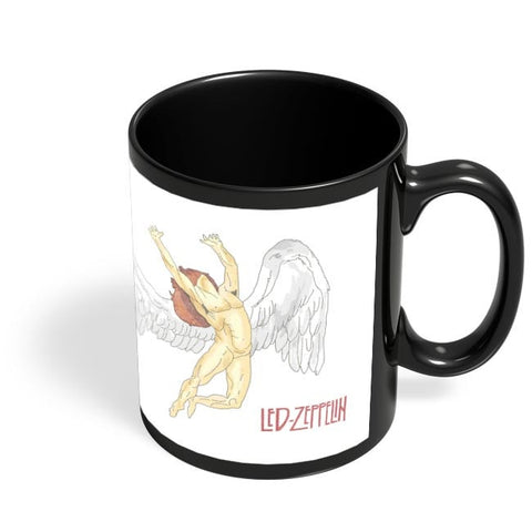 Coffee Mugs Online | Led Zeppelin Black Coffee Mug Online India