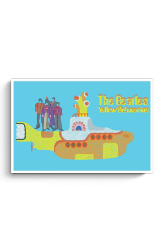 Posters Online | The Beatles Poster Online India | Designed by: Mihika Shaunik
