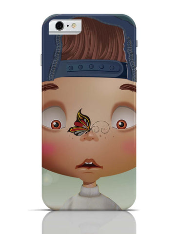 iPhone 6 Covers & Cases | Butterfly On Nose - Rachyeta iPhone 6 Case Online India