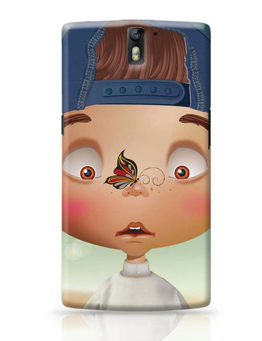 OnePlus One Covers | Butterfly On Nose - Rachyeta OnePlus One Case Cover Online India