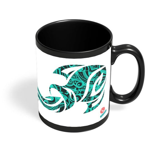 Aquarius - Rachyeta Black Coffee Mug Online India