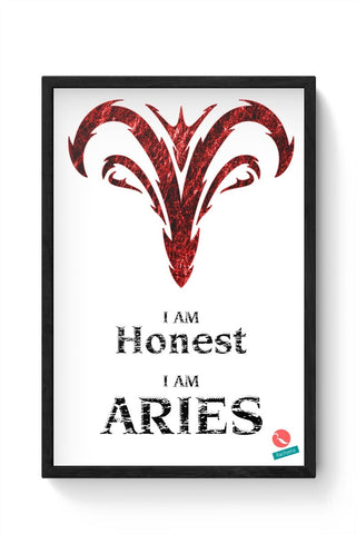 Aries - Rachyeta Framed Poster Online India
