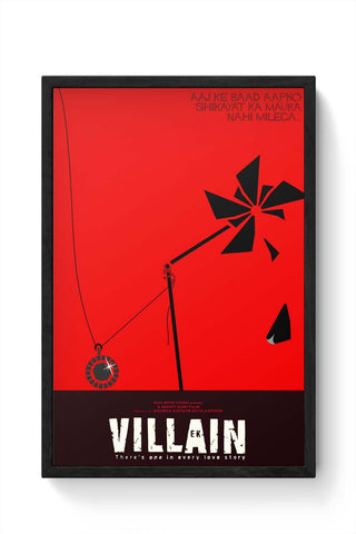 Framed Posters Online India | Ek Villain Framed Poster Online India