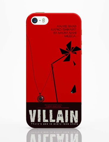 iPhone 5 / 5S Cases & Covers | Ek Villain iPhone 5 / 5S Case Online India