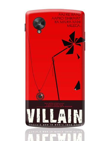 Google Nexus 5 Covers | Ek Villain Google Nexus 5 Case Cover Online India
