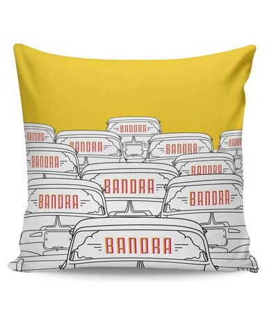 PosterGuy | Kaali Peeli Cushion Cover Online India