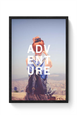 Framed Posters Online India | Adventure Framed Poster Online India