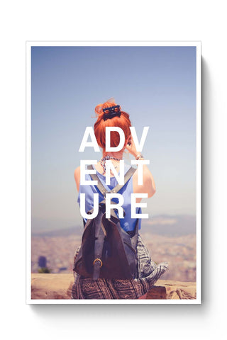 Posters Online | Adventure Poster Online India | Designed by: Akshita Chandra