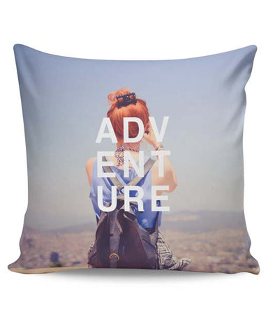 PosterGuy | Adventure Cushion Cover Online India