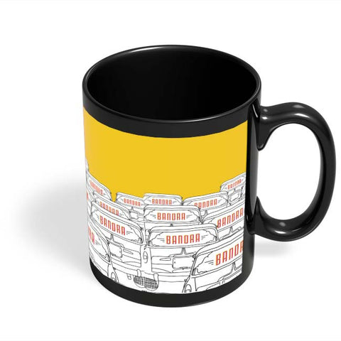 Coffee Mugs Online | Kaali Peeli Black Coffee Mug Online India