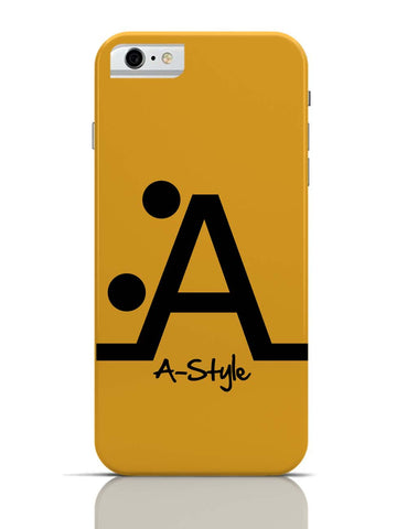 iPhone 6/6S Covers & Cases | Letter A Style iPhone 6 Case Online India