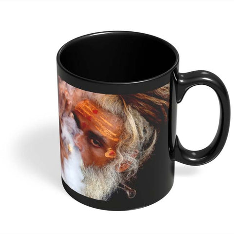 Coffee Mugs Online | Simhastha 3 Black Coffee Mug Online India
