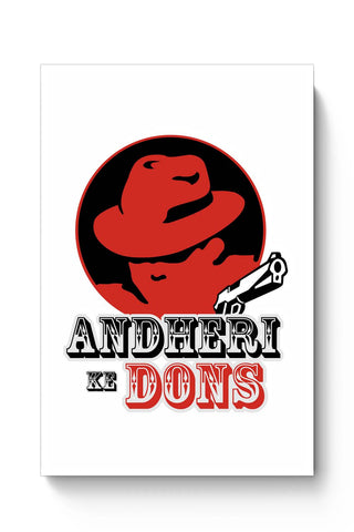 Posters Online | Andheri Ke Don Poster Online India | Designed by: Ankur Chitlangia