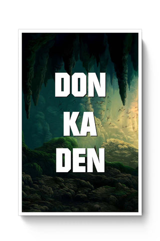 Posters Online | Don Ka Den Poster Online India | Designed by: Ankur Chitlangia