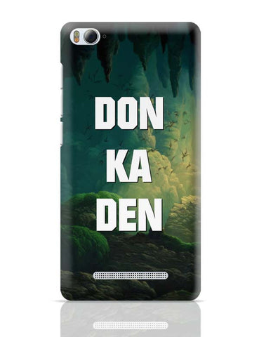 Xiaomi Mi 4i Covers | Don Ka Den Xiaomi Mi 4i Case Cover Online India