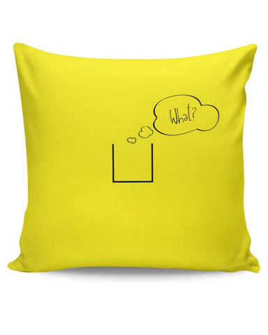 PosterGuy | What Cushion Cover Online India